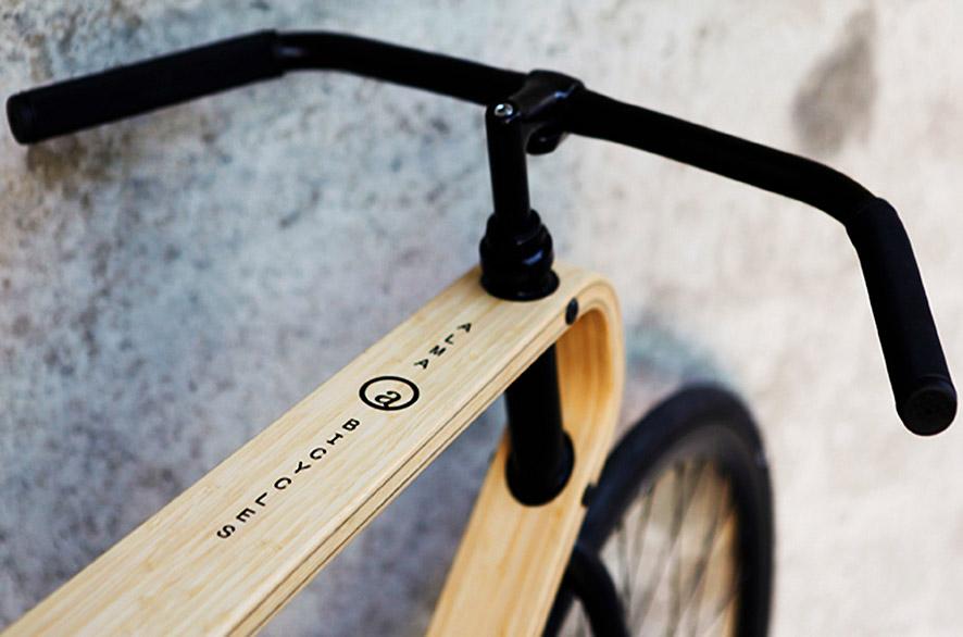 bamboe fiets