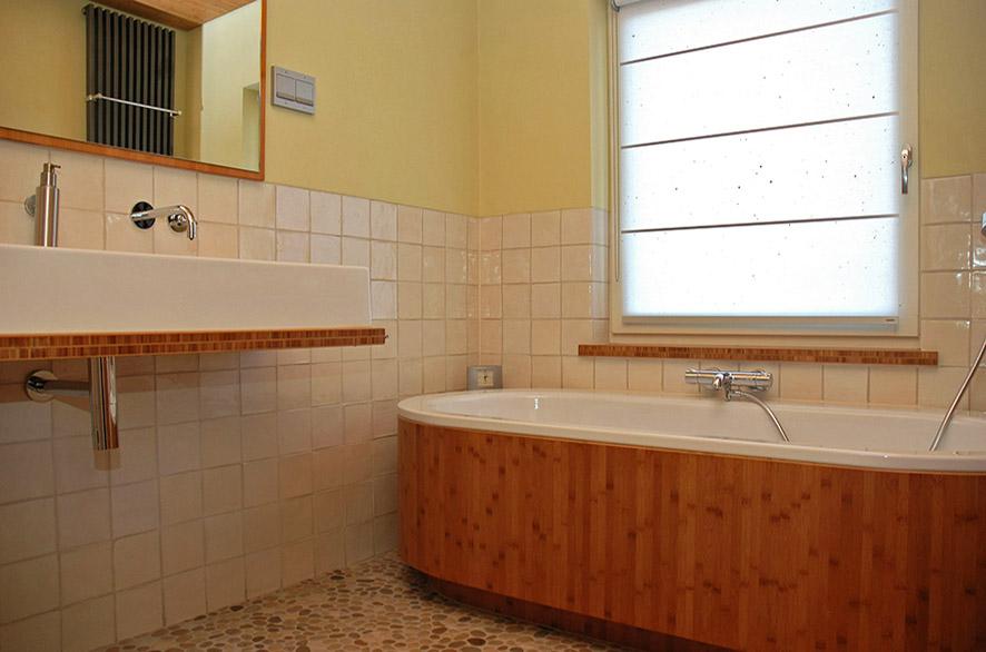 bamboe badkamer